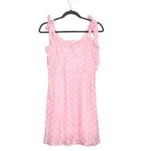 SHEIN daisy floral dress ditsy pink yellow mini